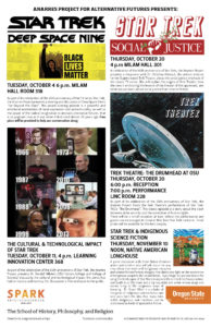 Star Trek Events Poster